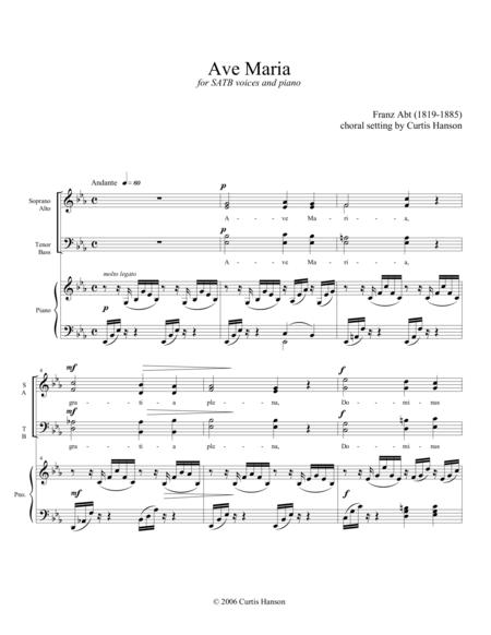 Ave Maria (SATB)