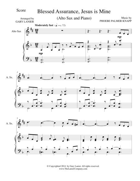 blessed assurance instrumental arrangement pdf