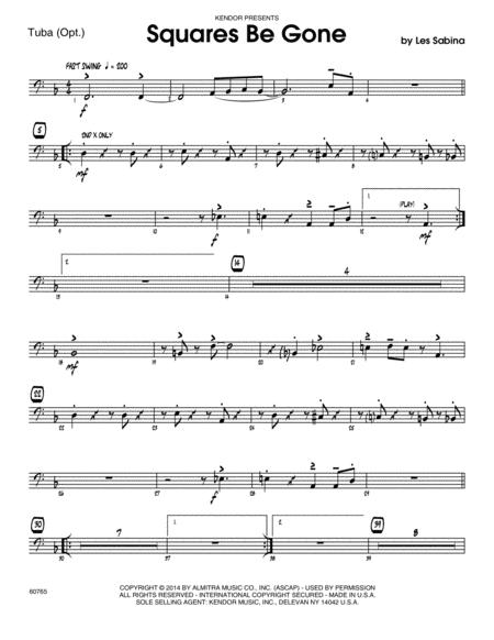 Squares Be Gone - Tuba