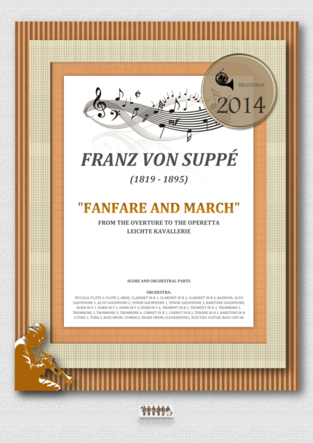 Fanfare and March  from the overture to the operetta Leichte Kavallerie