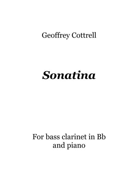 Sonatina for Bass Clarinet and Piano