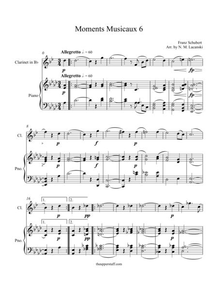 Moments Musicaux 6