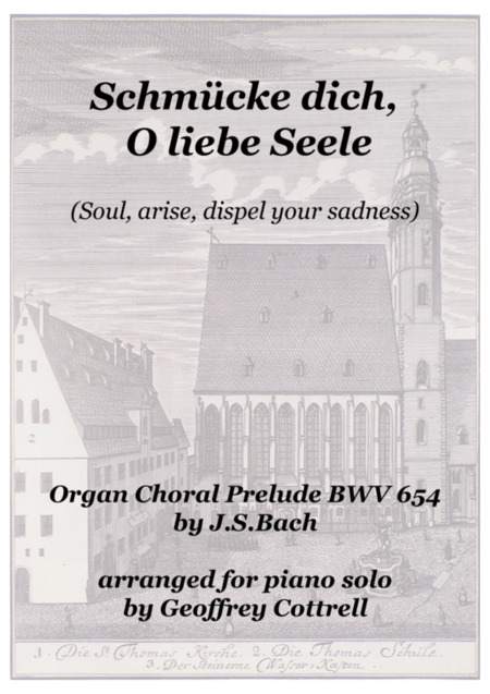 Choral prelude: 'Schmücke dich, o liebe Seele' - piano arrangement