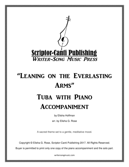 Leaning on the Everlasting Arms - Tuba