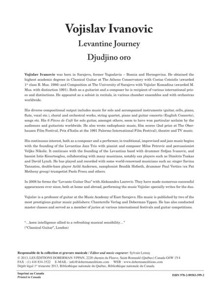 Levantine Journey / Djudjino oro