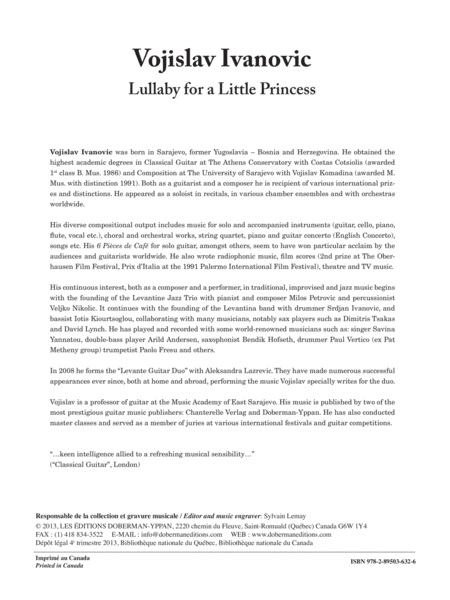Lullaby for a Little Princess