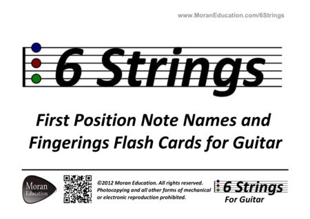 Guitar Flash Cards