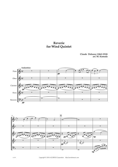 Reverie for Wind Quintet