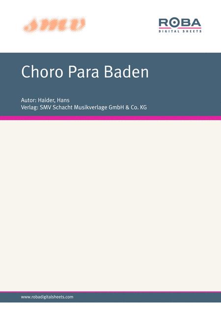 Choro Para Baden