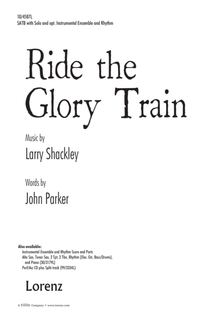 Ride the Glory Train