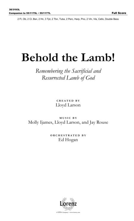 Behold the Lamb! - Full Score