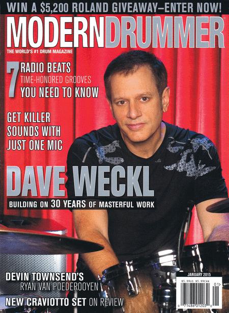 Modern Drummer Magazine January 2015
