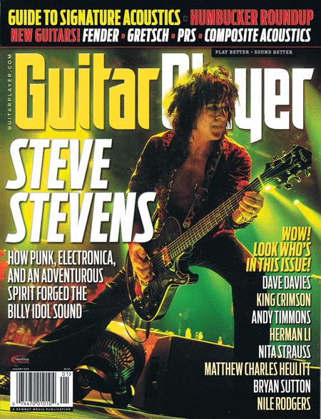 Guitar Player Magazine January 2015