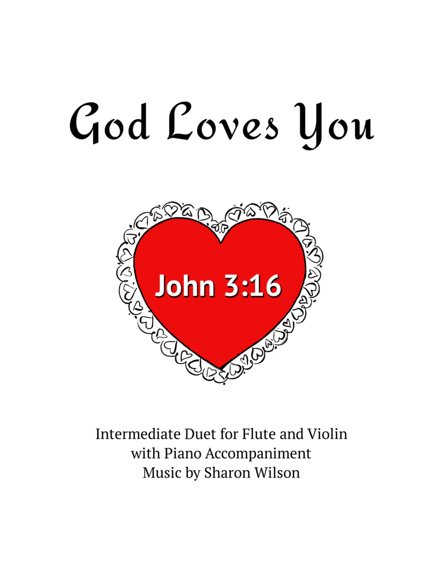 God Loves You (Violin and/or Flute Duet)