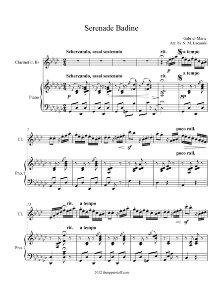 Serenade Badine