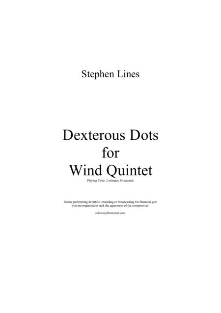 Dexterous Dots for Wind Quintet