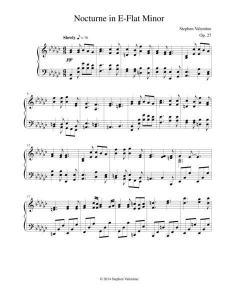 Nocturne in E-Flat Minor