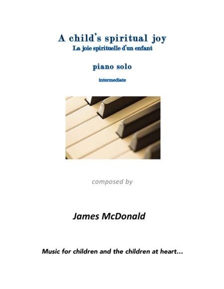 A child's spiritual joy