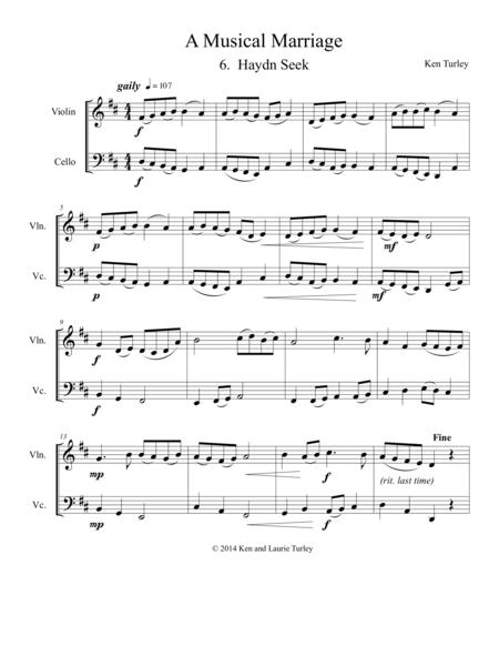 Duo 6 A Musical Marriage Haydn Seek