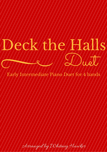 Deck The Halls Piano Duet