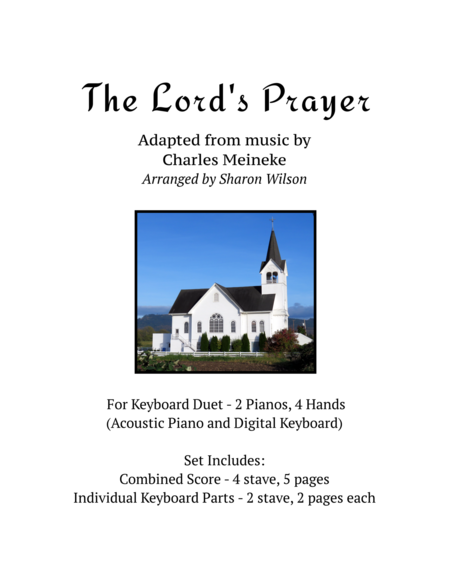The Lord's Prayer (keyboard duet - 2 Pianos, 4 Hands)