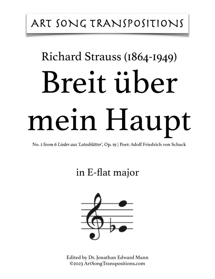 Breit' über mein Haupt, Op. 19 no.2 (E-flat major)
