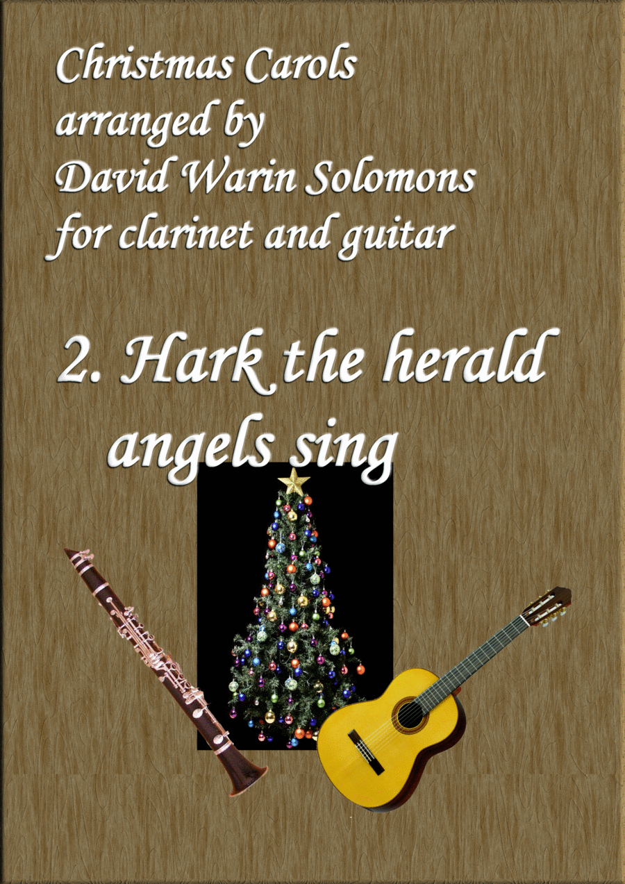 Christmas Carols for clarinet and guitar No 2 Hark the Herald Angels Sing