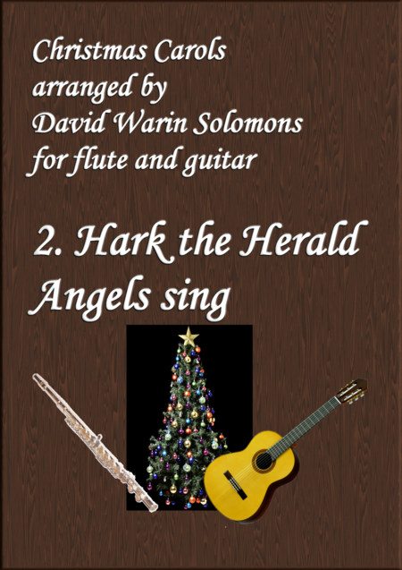 Christmas Carols for flute and guitar No 2 Hark the Herald Angels Sing