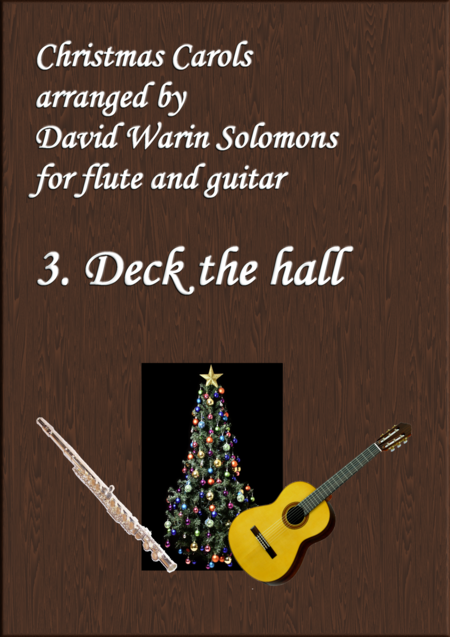 Christmas Carols for flute and guitar No 3 Deck the Hall