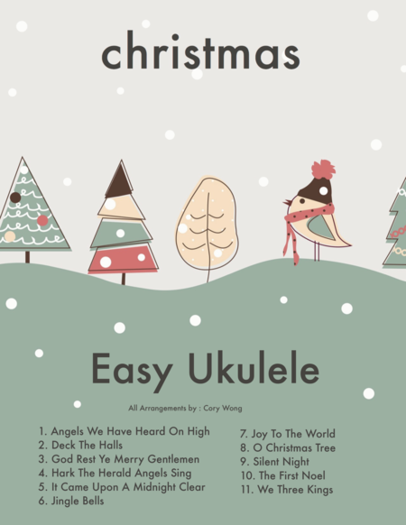 Jingle Bells (Beginner Ukulele w/TAB)