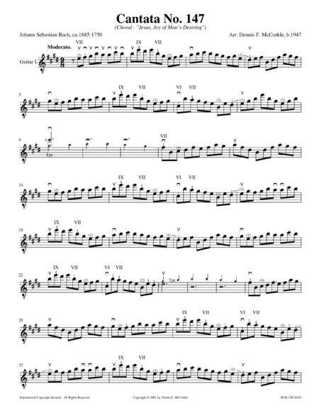 Cantata No. 147 (Choral), BWV 147 (Jesus, Joy of Man's Desiring)