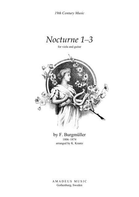 Nocturnes 1-3 for viola and guitar