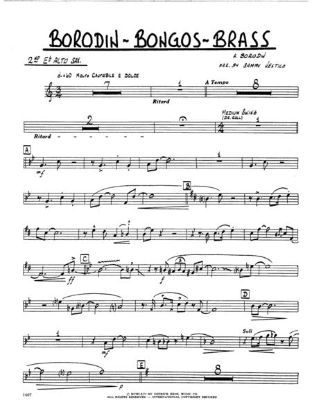 Borodin-Bongos-Brass - 2nd Eb Alto Saxophone