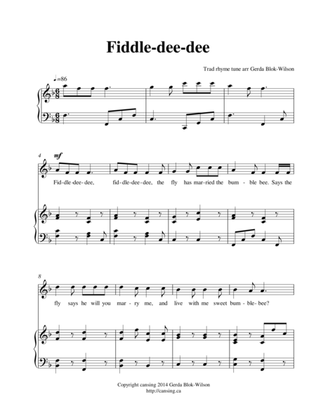 Fiddle dee-dee