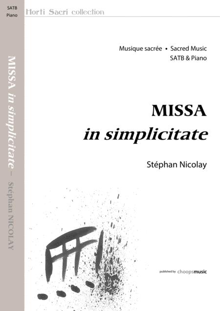 Missa in simplicitate