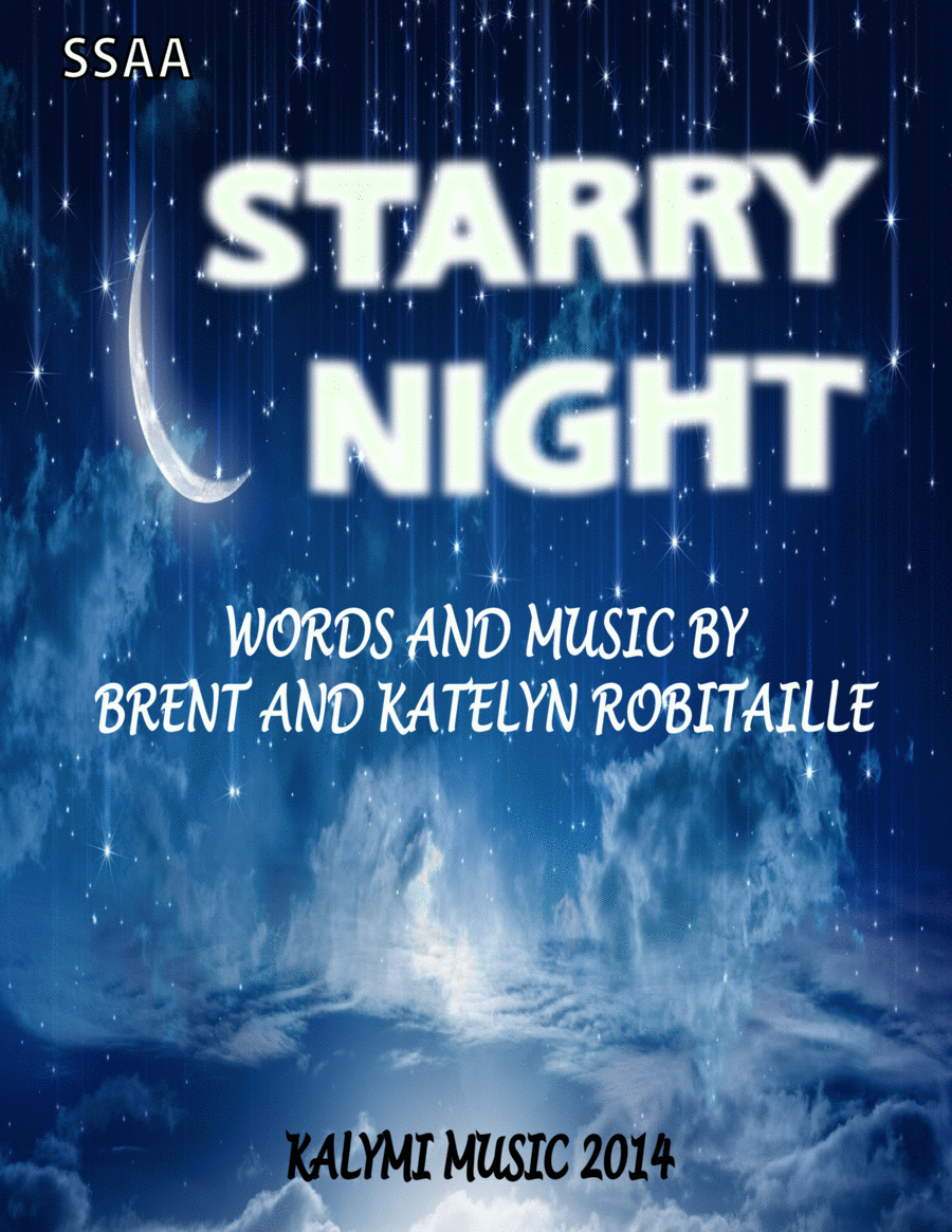 Starry Night - SSAA - 4-Part - Vocal Group - Piano - Cello
