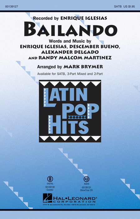 Bailando sheet music by enrique iglesias sheet music plus