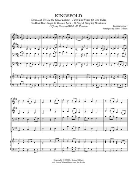 KINGSFOLD (O Sing A Song Of Bethlehem)