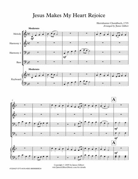 Jesus Makes My Heart Rejoice (Any Size Church Orchestra Series)