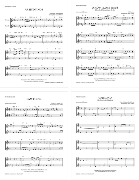 Instrumental Hymn Descants, Volume 2