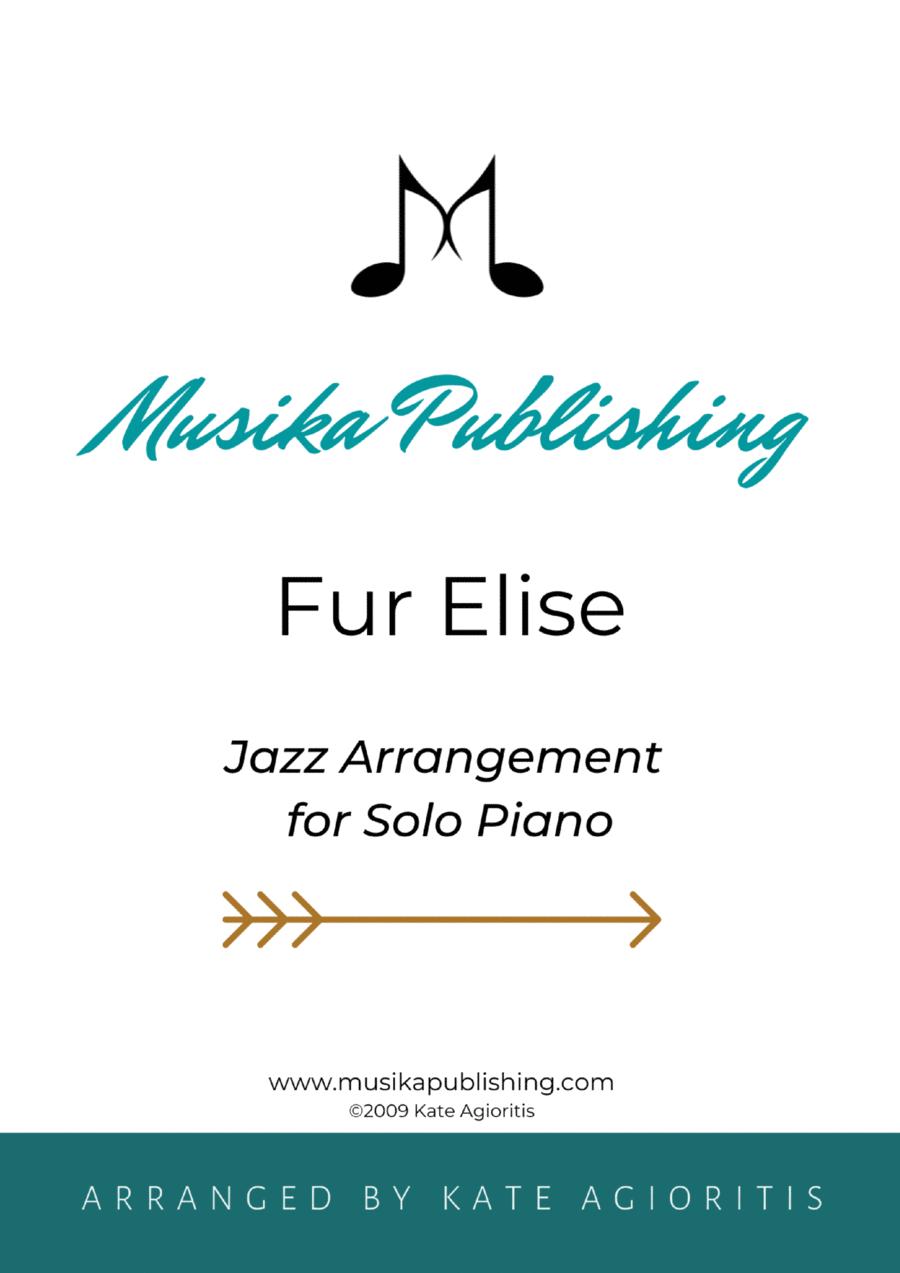 Fur Elise - Jazz Arrangement for Solo Piano