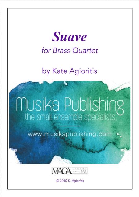 Suave - for Brass Quartet