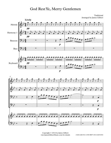 God Rest Ye, Merry Gentlemen (Any Size Church Orchestra Series)
