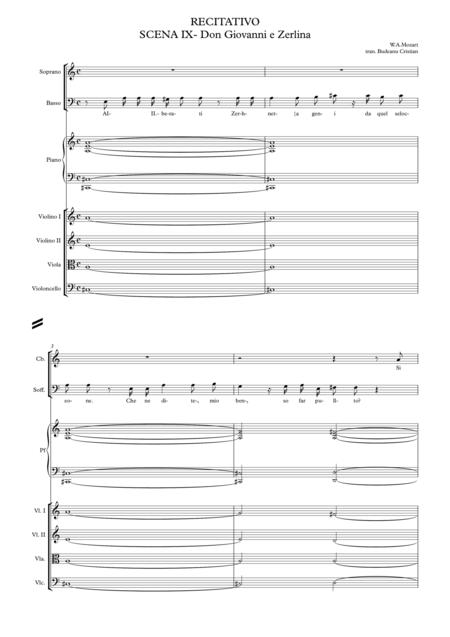R*E*CITATIVO SCENA IX- Don Giovanni e Zerlina