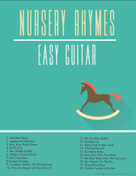 Rockabye Baby (Beginner Guitar w/TAB)