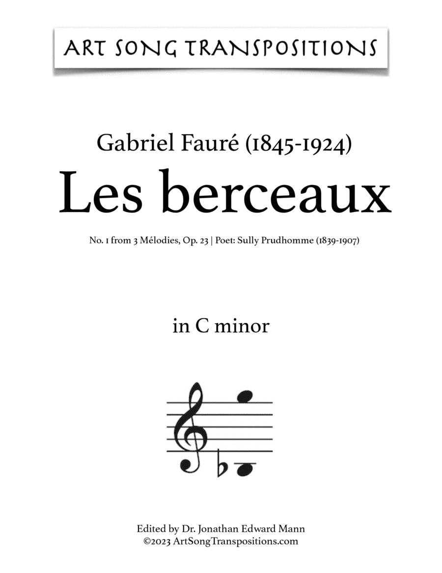 Les Berceaux, Op. 23 no. 1 (C minor)