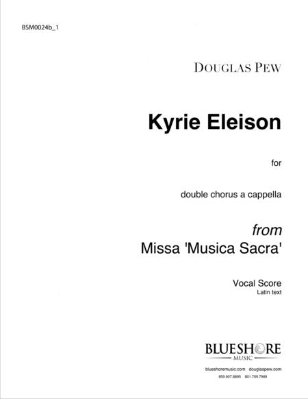 Kyrie Eleison, Double Chorus a cappella