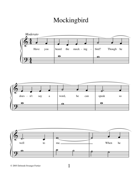 Mockingbird (solo)