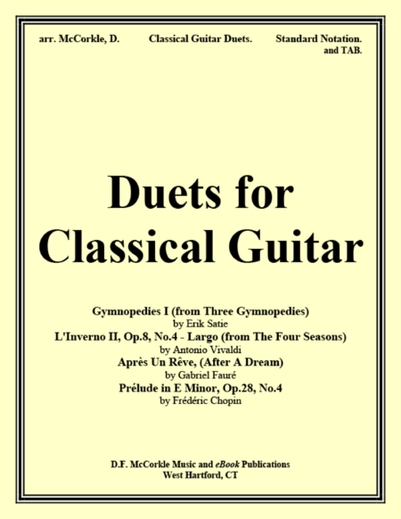 Duets for Classical Guitar (Collection)