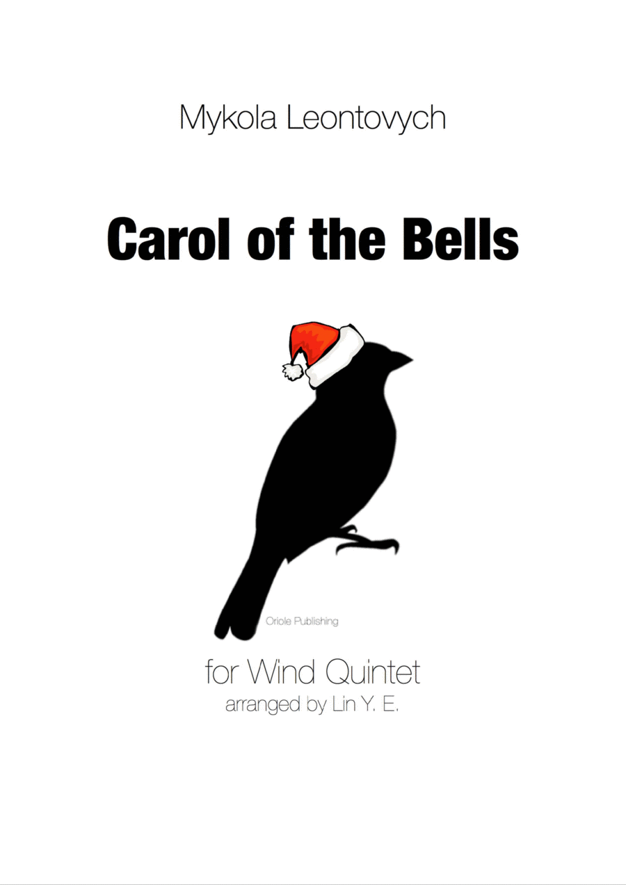 Leontovych - Carols of the Bells for Wind Quintet